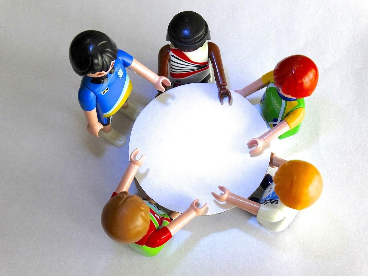 GFK im Gruppenmeeting